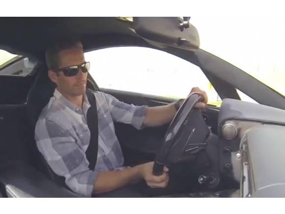 Vídeo: Lexus LFA conducido por Paul Walker en circuito