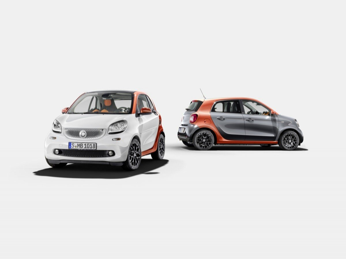 Nuevos smart fortwo y forfour 2014