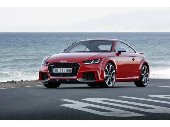 Nuevo Audi TT RS Coupé y TT RS Roadster, 400 CV de adrenalina