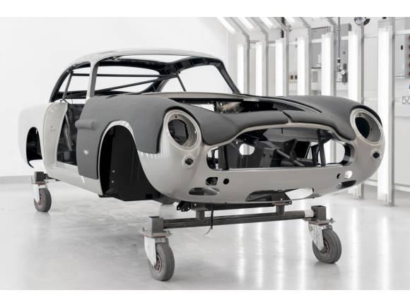 Aston Martin vuelve a fabricar el DB5 55 años después