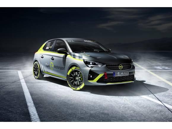 El nuevo Opel Corsa eléctrico entra en los rallyes en 2020