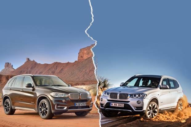 ¿Qué coche compro BMW X3 o X5?