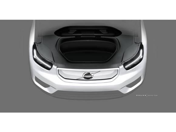 Un vistazo al futuro Volvo XC40 eléctrico