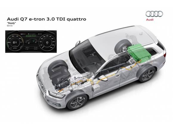Nuevo Audi Q7 e-tron: 0 a 100km/h en 6 segundos
