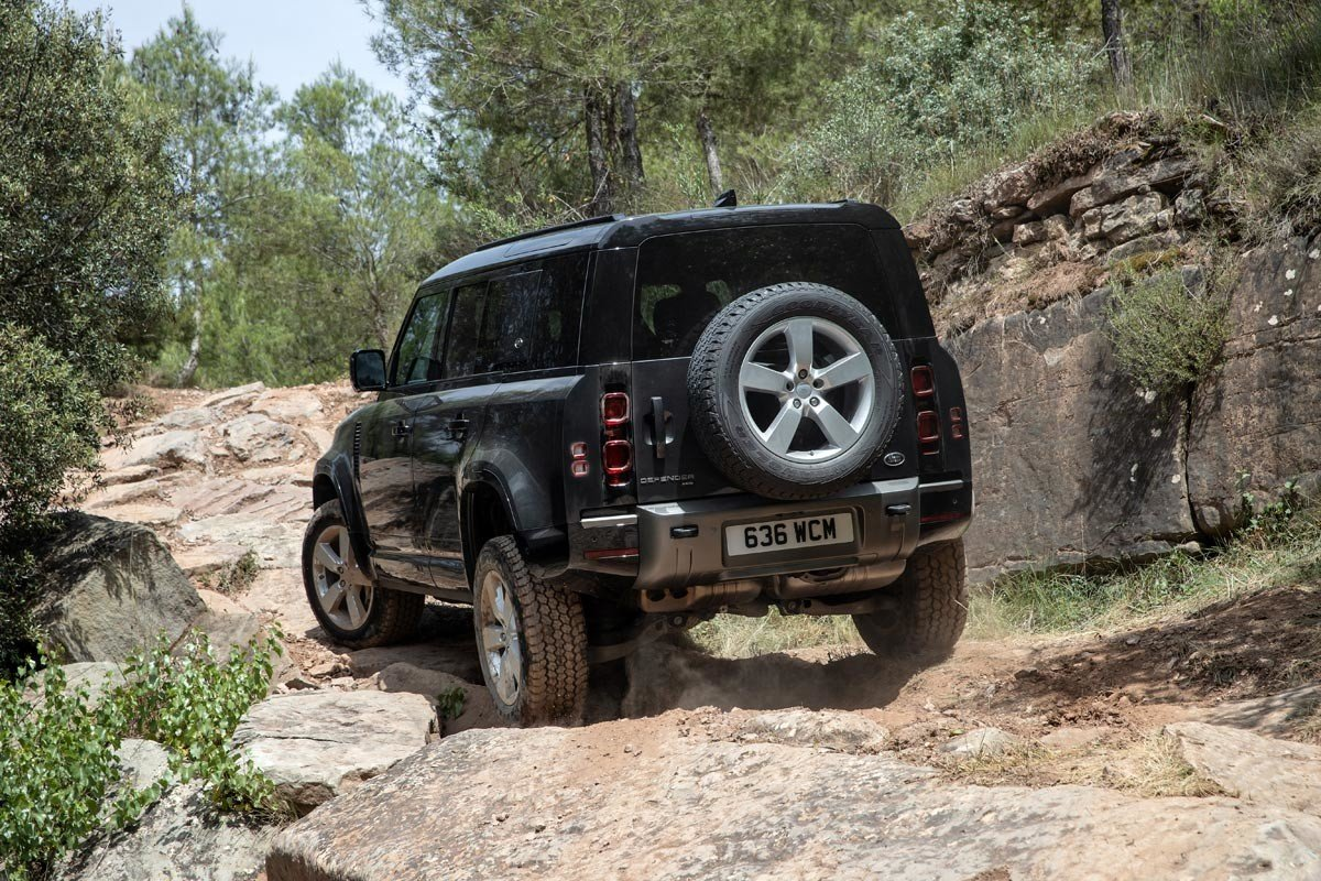Prueba Land Rover Defender D300