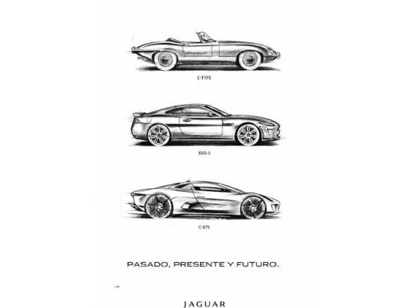 Jaguar celebra el 50 Aniversario del E-TYPE regalando un póster