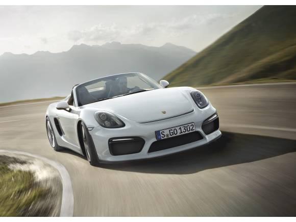 Porsche Boxster Spyder: el Boxster más ligero y potente