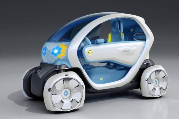 Renault presenta la maqueta del Twizy Z.E.