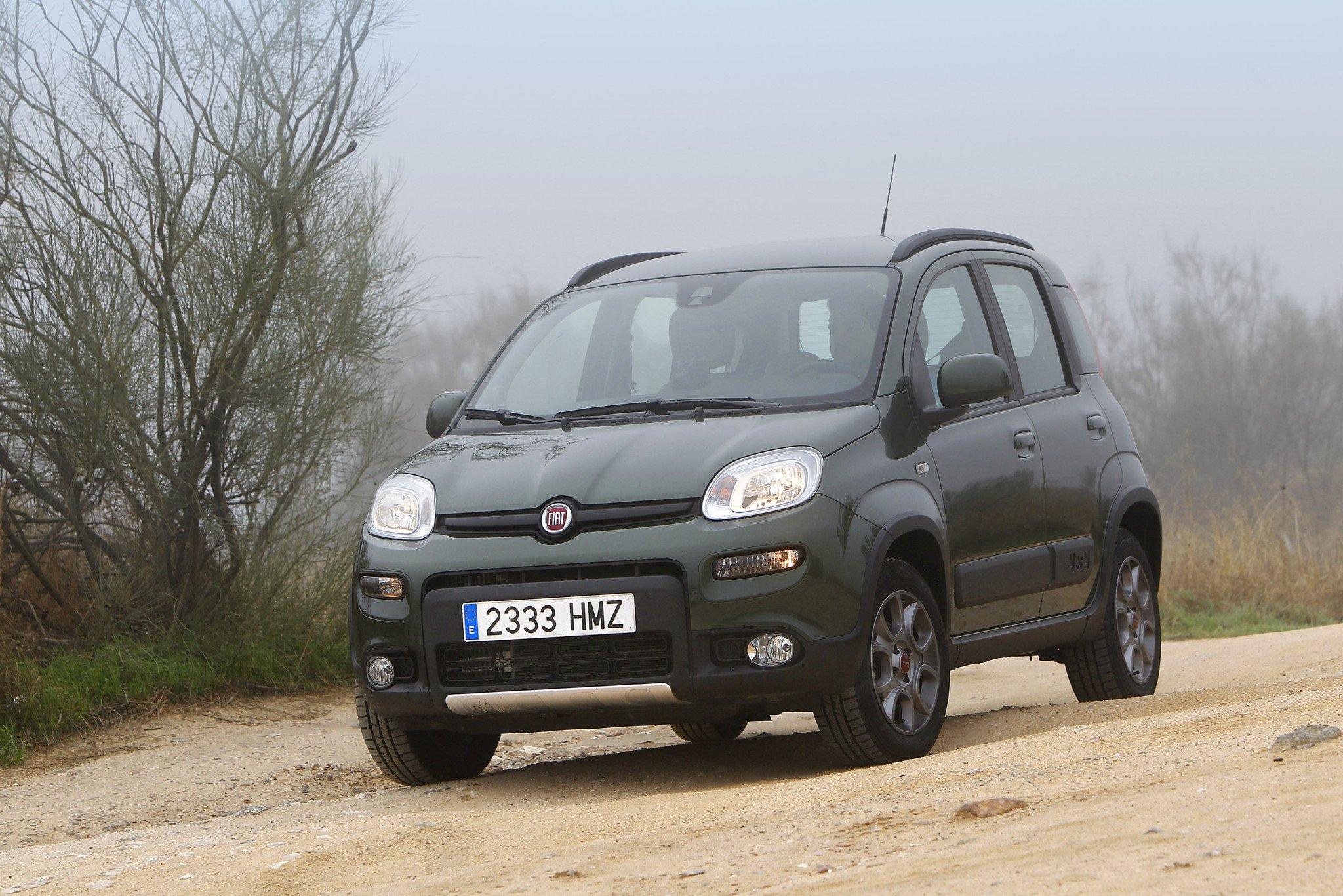 Prueba Fiat Panda 4x4 El Tt Mas Pequeno Del Mercado