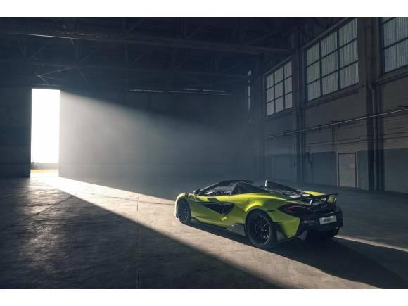 Nuevo McLaren 600LT Spider: a cielo descubierto