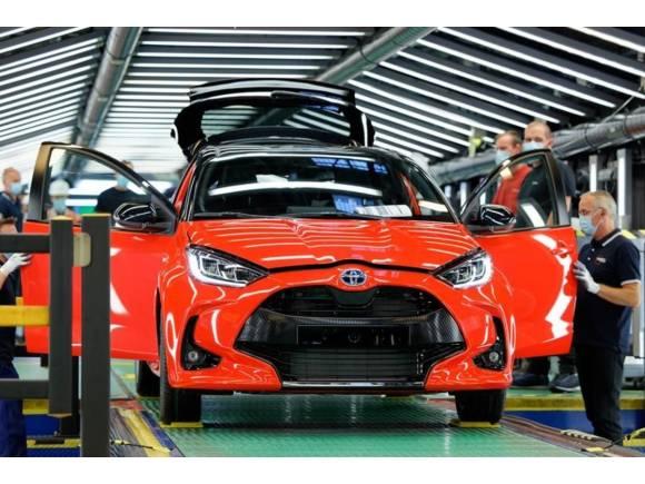 El coronavirus y el cierre de fronteras en Reino Unido para la producción de Toyota