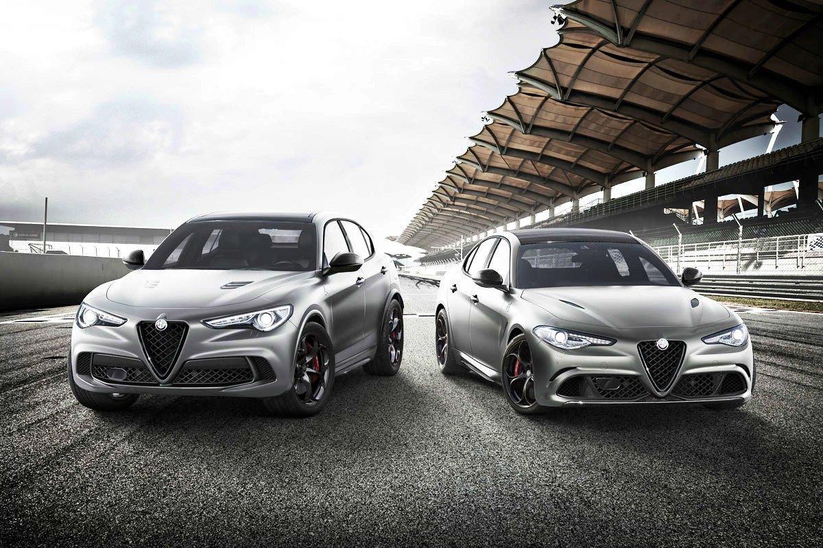Alfa Romeo Giulia Stelvio NRING