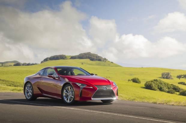 Lexus LC Coupé: actualización para mejorar la dinámica y la multimedia