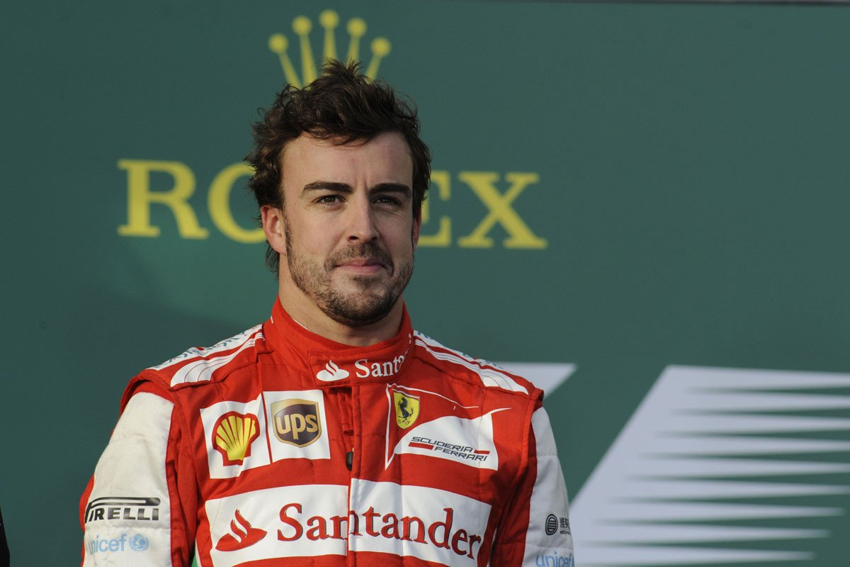 F1_Australia_Alonso_podio