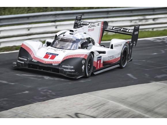 Vídeo: Porsche baja el récord de Nürburgring a 5'19