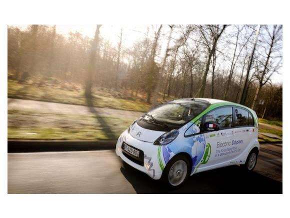 Vuelta al mundo con un Citroën C-Zero