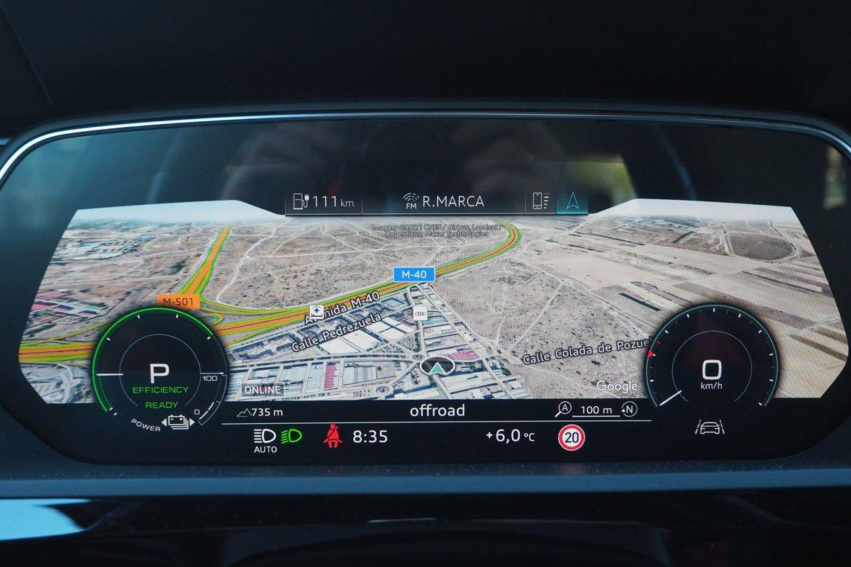 Prueba Audi e-tron