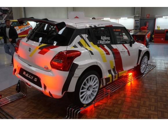 Suzuki Swift R4LLY S: la apuesta de Suzuki para los rallys de 2020
