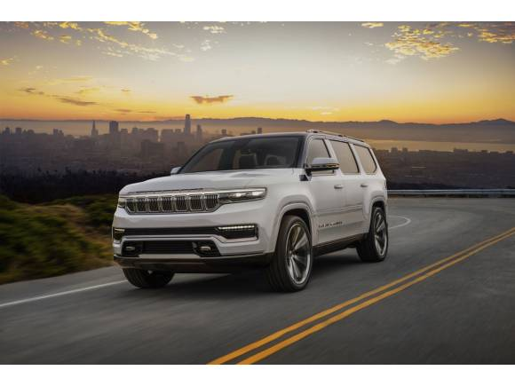 Jeep Grand Wagoneer Concept: el asalto de la marca americana a los SUV de lujo