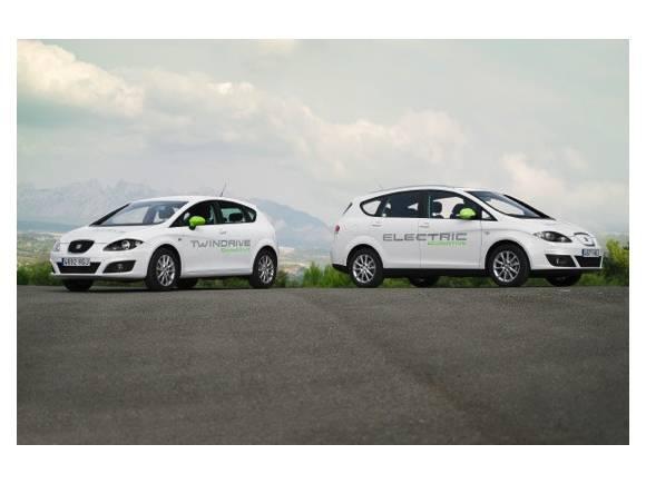 SEAT presenta un Altea eléctrico y un híbrido enchufable basado en el León