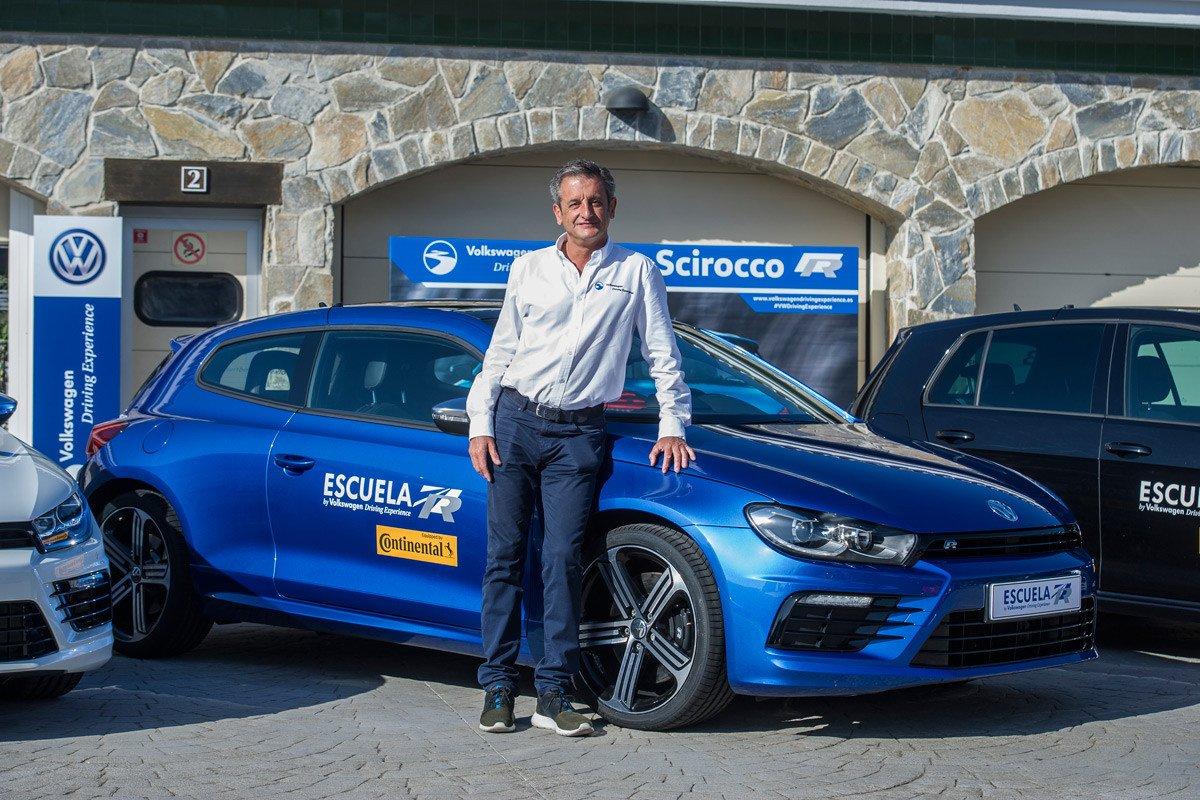 Luis Moya VW Driving Experience