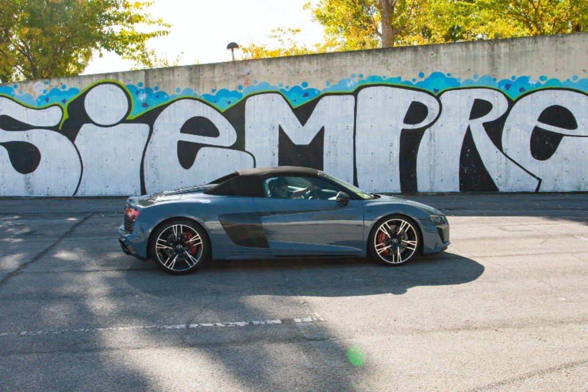 Prueba Audi R8 Spyder