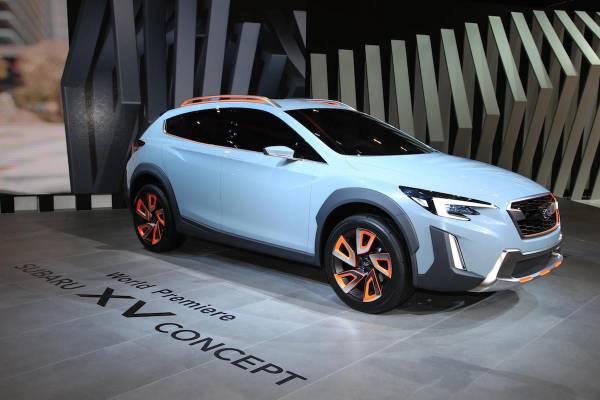 Nuevo Subaru XV Concept, avance de la segun