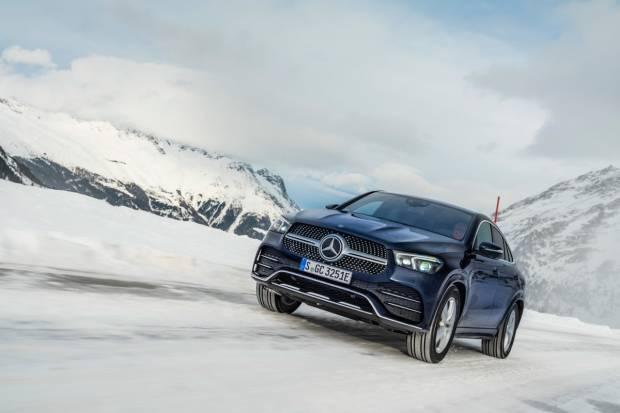 Mercedes GLE Coupé: en verano llega el híbrido enchufable diésel 350 de