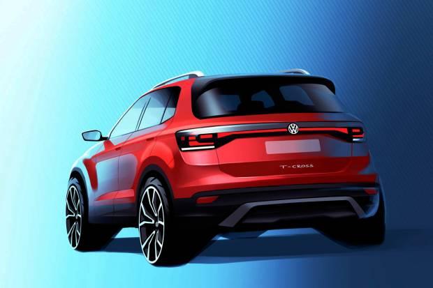 El Volkswagen T-Cross, a la venta a finales de 2018