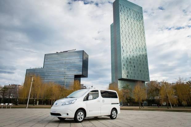 Nissan aumenta la autonomía de la e-NV200 con una nueva batería