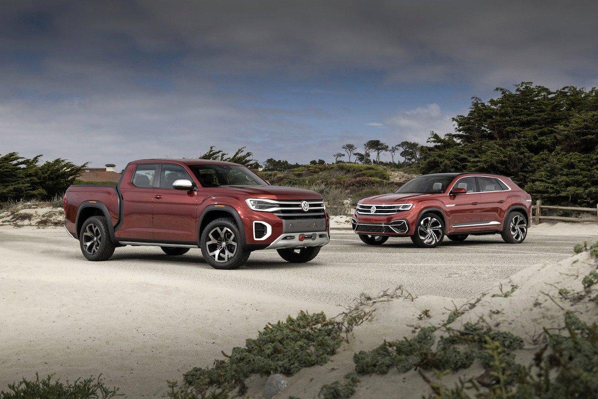 Volkswagen Atlas Cross Sport y Atlas Tanoak