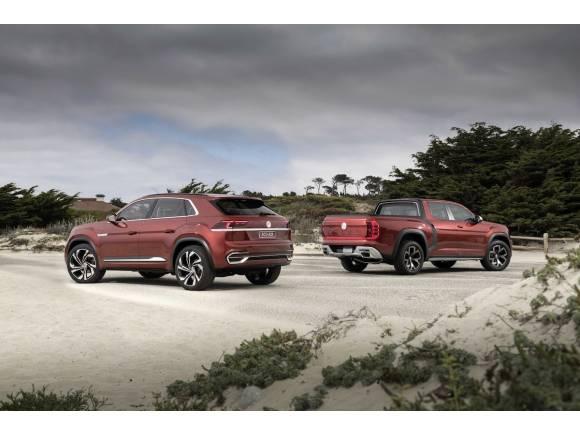 Dos nuevos futuros Volkswagen 4x4 para USA