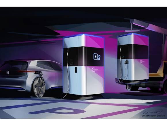 Volkswagen crea estaciones móviles de recarga rápida