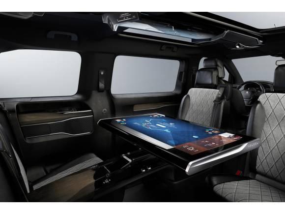 Peugeot Traveller i-Lab, el comercial del futuro próximo