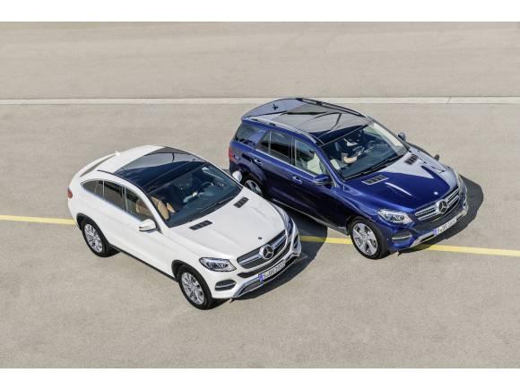 Prueba de gama: nuevo Mercedes GLE y GLE Coupé