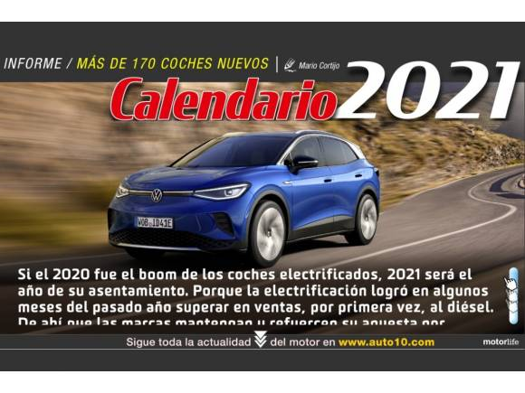 Motorlife Magazine 108: Calendario Coches Nuevos 2021