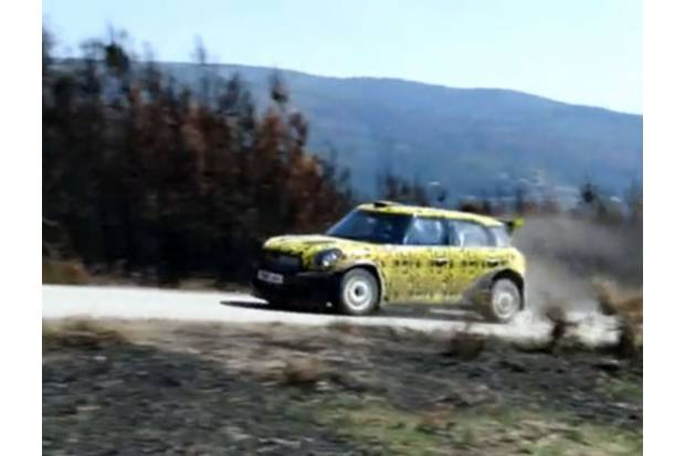 Vídeo: MINI CountryMan WRC