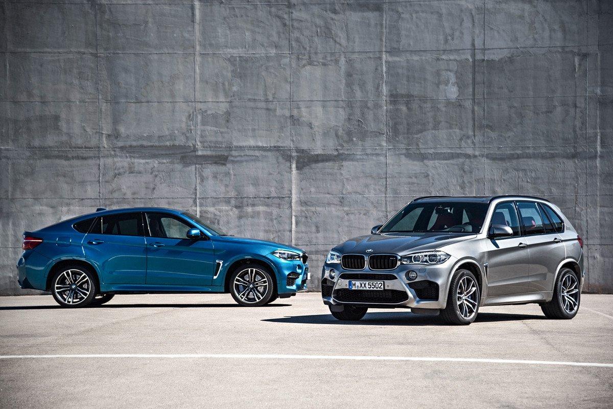 BMW X5 M y X6 M