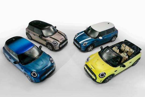 Mini nos muestra el rediseño de sus modelos cabrio y de tres y cinco puertas