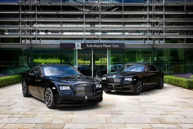 Rolls-Royce Ghost y Wraith Black Badge, en el Festival de Goodwood