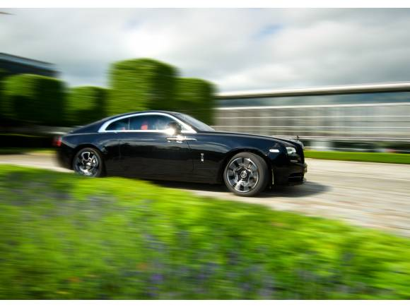 Rolls-Royce Ghost y Wraith Black Badge, en el Festival de Goodwood
