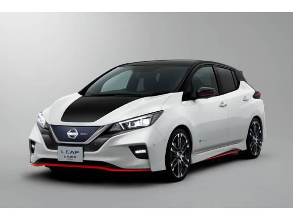 Nissan Leaf NISMO: eléctrico vestido de GTI