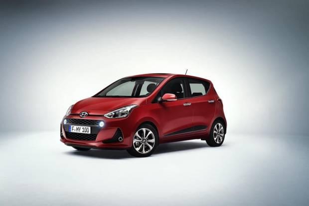 Nuevo Hyundai i10 2017, mejorada estética y equipamiento tecnológico