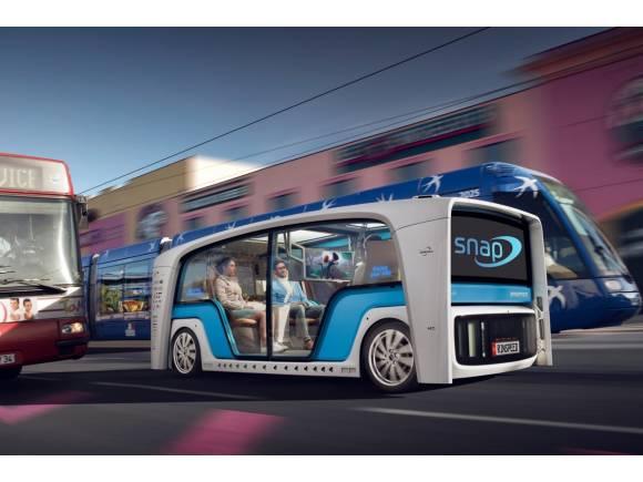 Rinspeed Snap: eléctrico y autónomo para la ciudad del futuro