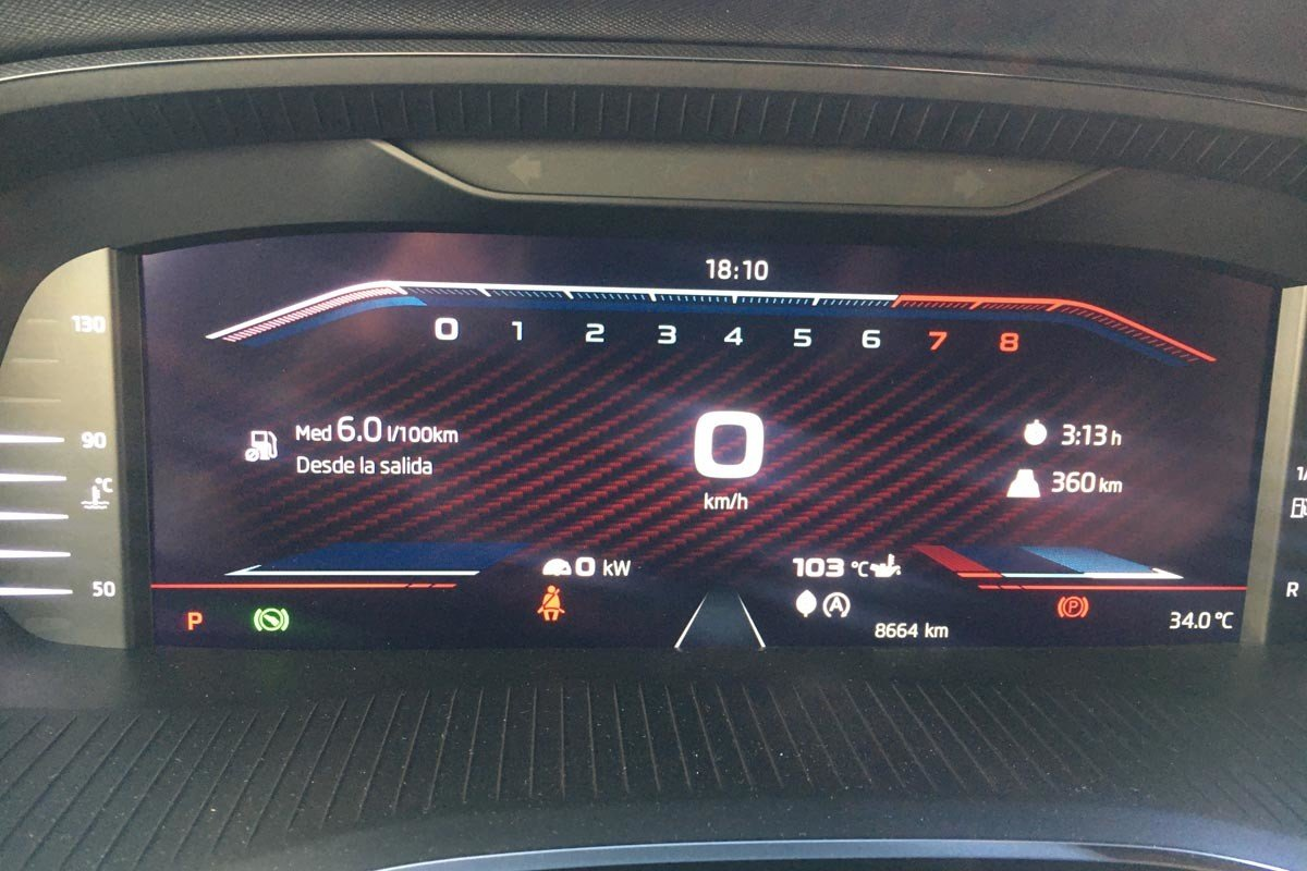 Prueba Skoda Octavia Combi RS
