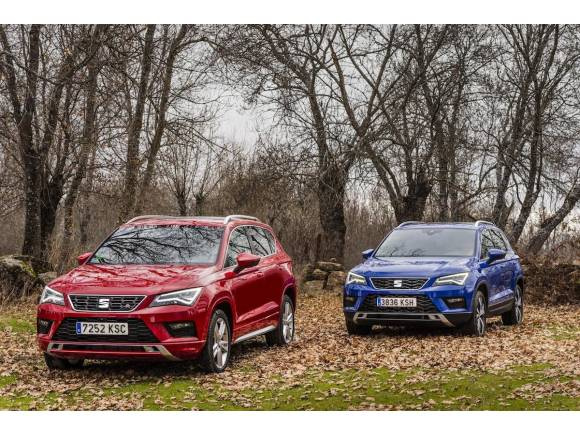 El SEAT Ateca 2019 recibe motores más limpios