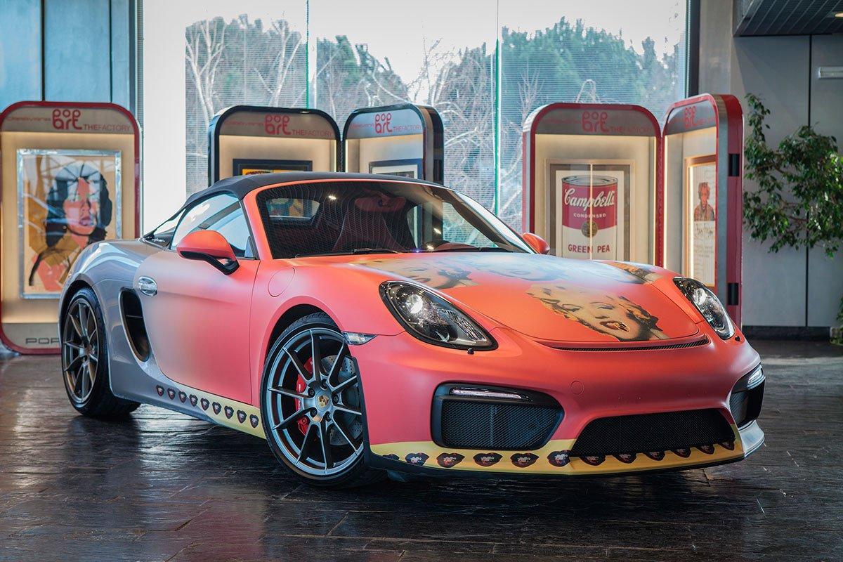 Porsche Warhol