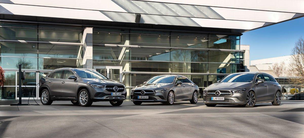 Mercedes Clase CLA GLA 250 e