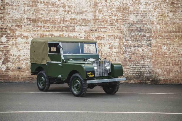 Land Rover ofrece 25 unidades restauradas del Serie 1
