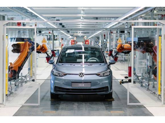 El Volkswagen ID.3 vuelve a producción tras un mes y medio 'confinado'